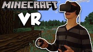 Minecraft in VR! - Oculus Rift Touch VR Minecraft