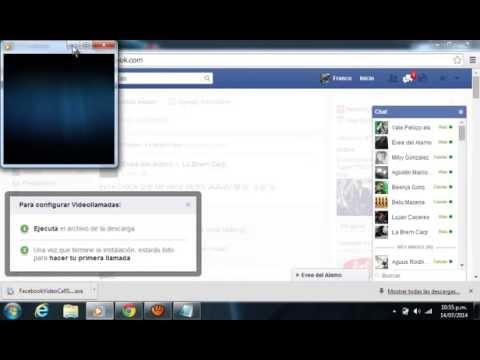 descargar e instalar video llamada para facebook