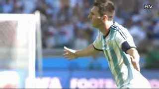 Lionel Messi - Amazing Curve Goal vs Iran - WORLD CUP 2014