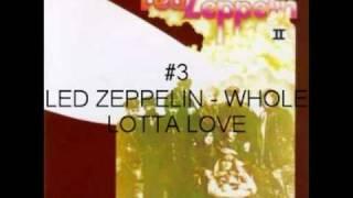VH1 100 greatest hard rock top 10
