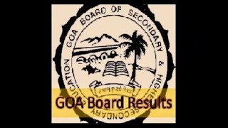Goa SSC Results 2016 | GBSHSE 2016 result goaresults.nic