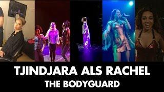 Tjindjara's eerste keer als Rachel Marron | The Bodyguard
