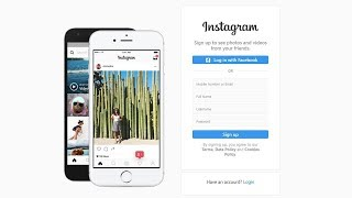 How To Make Signup Page Like Instagram In HTML CSS Bootstrap | Login Form Design