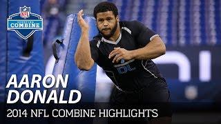 Aaron Donald (Pitt, DT) | 2014 NFL Combine Highlights