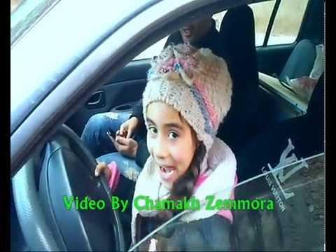 بنت لا يتجاوز عمرها 9 سنوات تقود سياّرة في الجزائر 2015 زمورة غليزان