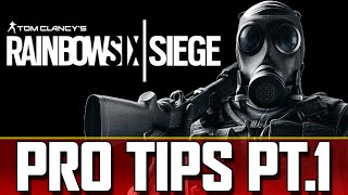 Rainbow Six Siege Pro Tips and Tricks | RB6 Siege | Defense Part 1