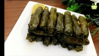 ورق عنب طعم حامض حلو /بحشوة لذيذة ومميزة/ يلنجي/دولمة/ وصفات رمضانية