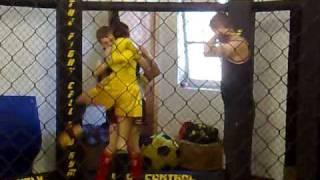 Muay Thai - Aaron Armit's 1st fight