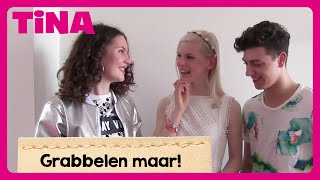 Femke, Shalisa en Sander (Just Like Me) beantwoorden 6 grabbelvragen | Tina