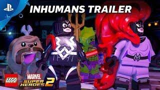 LEGO Marvel Super Heroes 2 – Inhumans Trailer | PS4