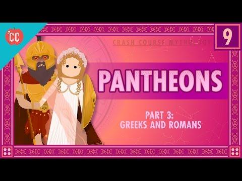 The Greeks and Romans - Pantheons Part 3: Crash Course World Mythology #9
