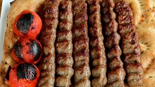 Afghan Kabab Recipe _ How to make Afghani Kabab Koobideh - International Cuisines