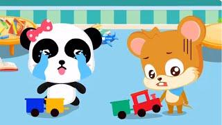 Little Panda Birthday Party | Children Learn The Magic Words | Baby Panda Kids Games