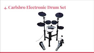 Top 10 Best Electronic Drum sets in 2019 Review