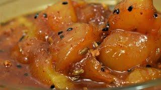 Aam ki Lonji | Keri Ki Lonji | Khatti Meethi Keri Ki Launji | Sweet And Sour Raw Mango Lonji-Golkeri