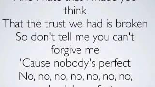 Jessie J-Nobody s Perfect [Acoustic Karaoke Instrumental] Remake.mp4