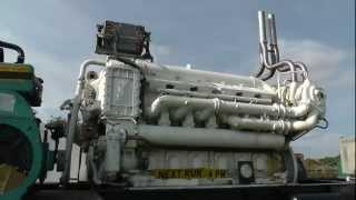 Paxman V12YHA 60 litre Ship Diesel Engine from HMS RHYL
