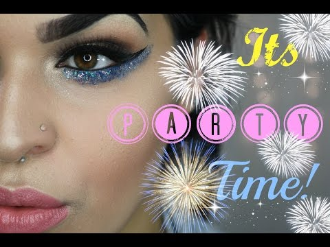 Glitter Party Makeup