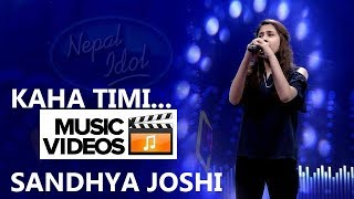 Kaha Timi - Sandhya Joshi ft A2 (Abhishek Arjel)   New Release   Nepali Music Video   Full HD 1080p