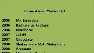 Roma Asrani Movies List