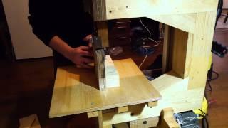 Homemade Bandsaw test