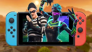 9 Minutes of Fortnite Gameplay on the Nintendo Switch - E3 2018