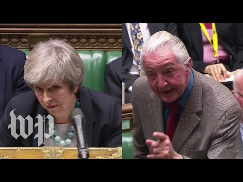 'A stunning display of pathetic cowardice' Theresa May's rough day in Parliament
