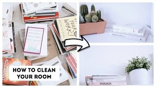 How To Clean Your Room | KonMari Method