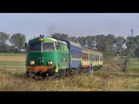 Fiaty w akcji SU45 228 i SU45 156 Polish diesel locomotives