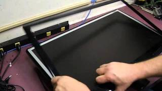 Repairing a LG W2753V-pf LCD monitor - Part 1 Disassembly