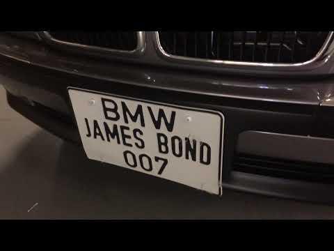 Classic Rides: James Bond 007 BMW 750iL Tomorrow Never Dies