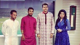 Taskin Ahmed-Arafat Sunny-Sabbir Rahman ke niye Eid Special Program