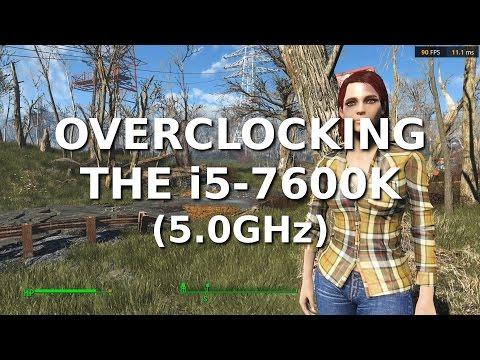 Overclocking the i5 7600K 5.0GHz