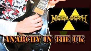 COMO TOCAR(HOW TO PLAY) ANARCHY IN THE UK MEGADETH