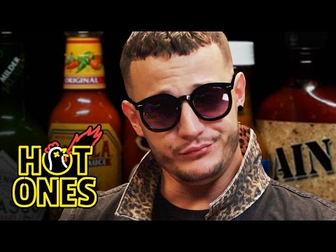 Xxx Mp4 DJ Snake Reveals His Human Side While Eating Spicy Wings Hot Ones 3gp Sex