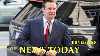 Bookkeeper Says Manafort Firm Gave Inflated Income Figure In Loan Bid | News Today | 08/02/2018...