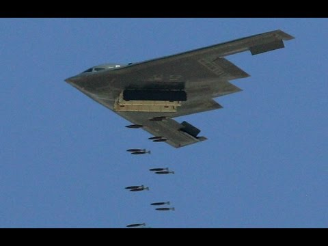 Breaking USA B2 nuclear capable bombers dropped bombs on Islamic State in Libya January 19 2017