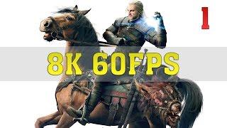 The Witcher 3 Wild Hunt 8K PC Gameplay [8K 60FPS] | TITAN Xp (2017) 4 Way SLI | ThirtyIR