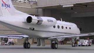 G-III Aircraft from NASA Armstrong Provides Live TV Coverage of Solar Eclipse Across America