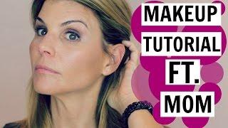 15 Step Makeup Tutorial ft. My Mom
