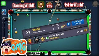 WORLD TOPPER (ARSALAN) v/s GamingWithK IN BERLIN - EPIC BERLIN GAMEPLAY - 8 BALL POOL - MINICLIP