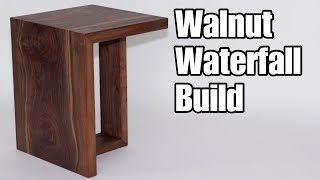 DIY Waterfall End Table — How to Woodworking