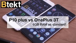Huawei P10 Plus vs OnePlus 3T: iThought it was an iPhone too :/