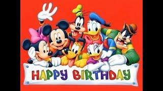 Happy, Happy Birthday - Disney Song