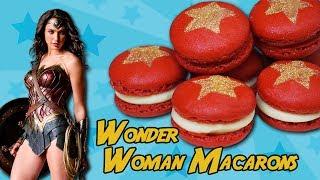 ℗ WONDER WOMAN MACARONS   SuperPilopi