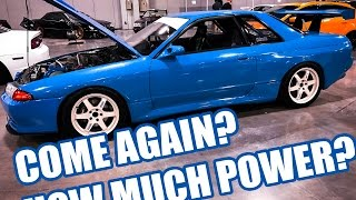 1990 IMPORTED RHD Skyline making HOW MUCH POWER?!