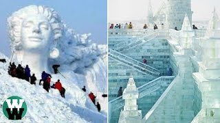 15 Most Amazing ICE Sculptures Ever Created!