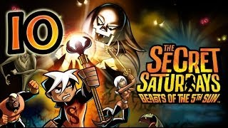 The Secret Saturdays: Beasts of the 5th Sun (Wii, PS2, PSP) Walkthrough Part 10