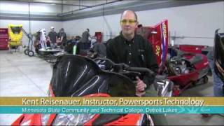 Powersports Technology at M State - Detroit Lakes