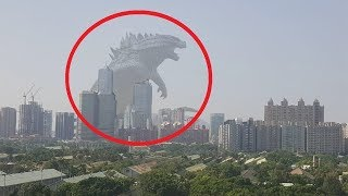 Top 10 Godzilla Caught On Camera And Spotted In Real Life That Will Shock You